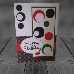 Retro with Red & Green Dots