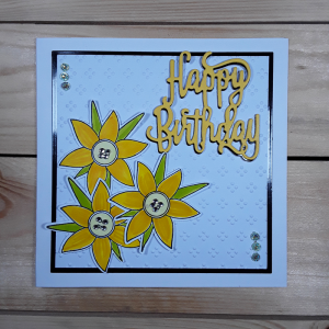 Samples for daffodil stamp 1